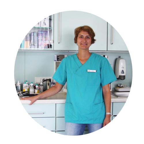 Tierarzthelferin • hier ausgebildet von 2003 - 2007 und übernommen worden